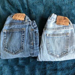 Boys size 7 slim Gap jeans